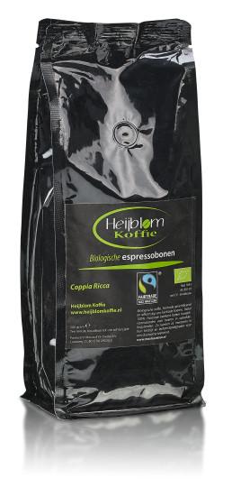 biologische espresso coppia ricca Heijblom koffie