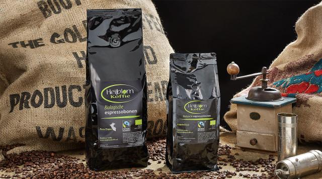 biologische espresso lijn Heijblom koffie