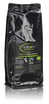 biologische espresso peru etappe Heijblom koffie