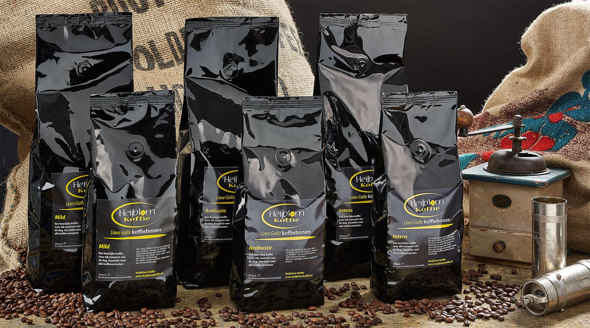 linea gialla espresso Heijblom koffie