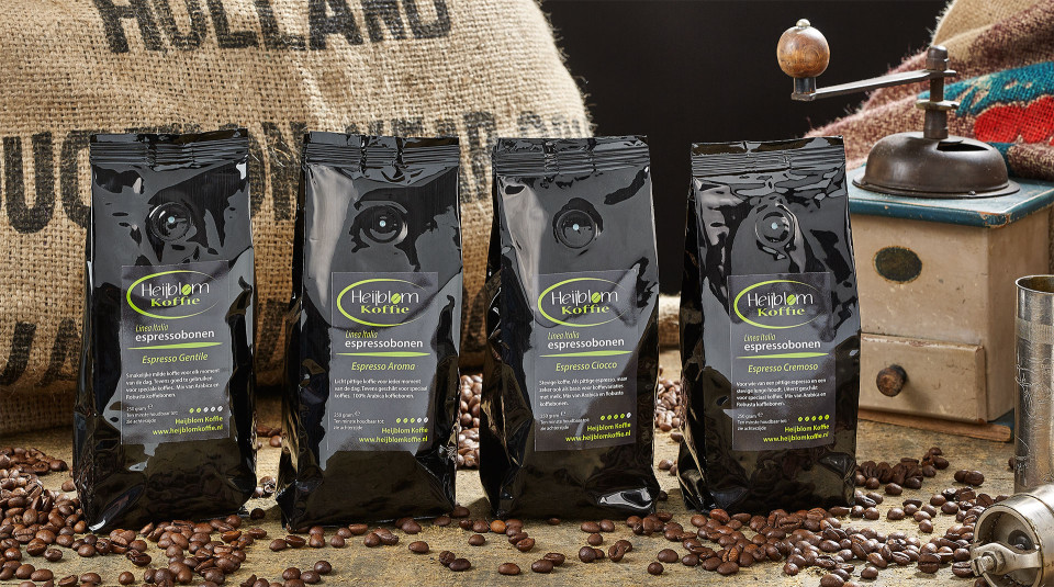 linea italia proefpakket espresso Heijblom koffie